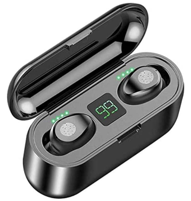 TWS Wireless Bluetooth Headphones Earphones Earbuds - £7.99 delivered @ smart_and_more_uk / eBay (UK Mainland)
