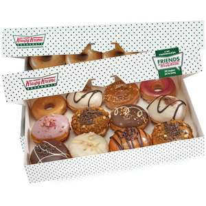 25% OFF Orders at Krispy Kreme on Days England, Scotland or Wales Play in Euros (£20 Min Spend) @ Deliveroo