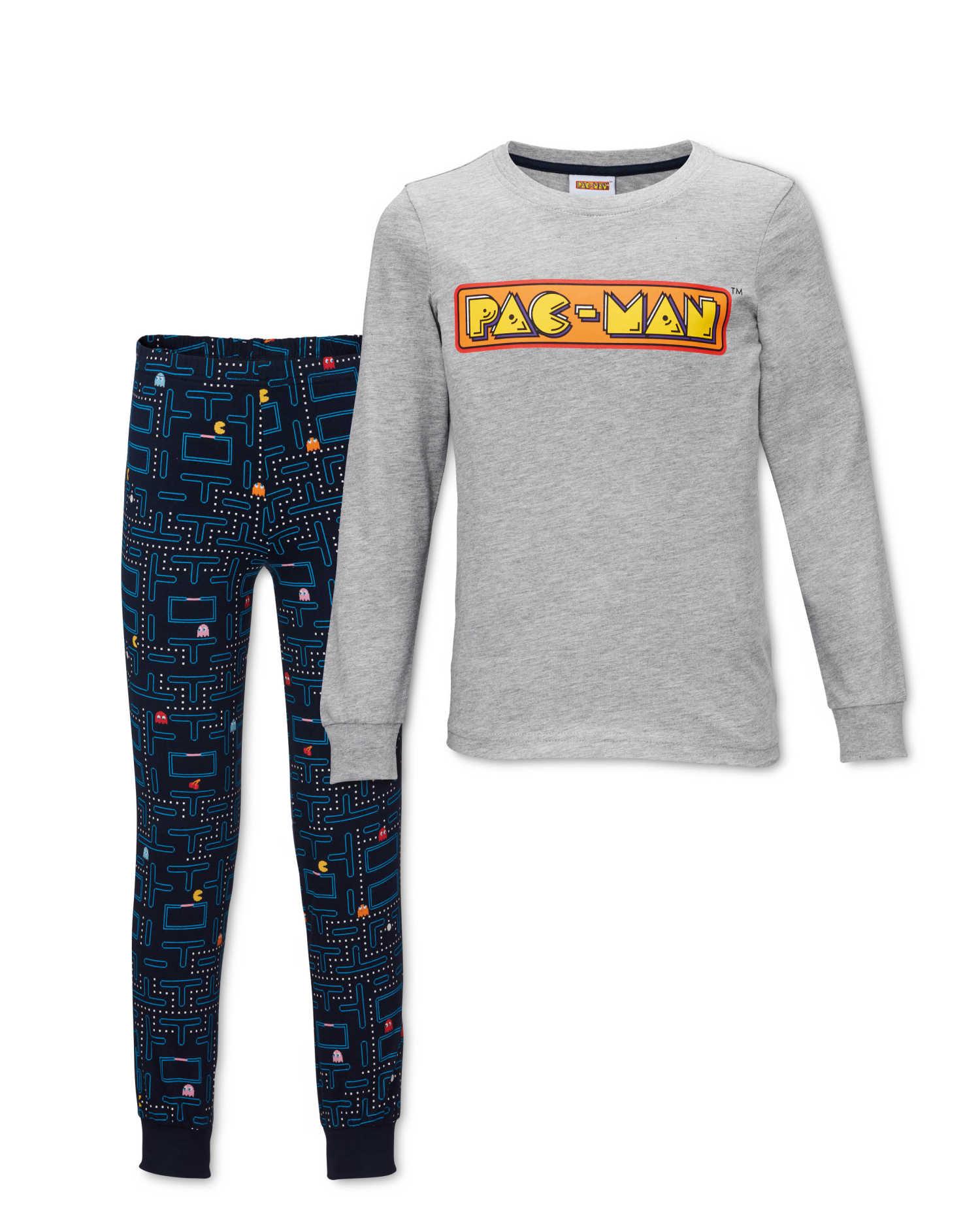 Kids PAC Man Pyjamas - £2.99 / £5.94 delivered @ Aldi