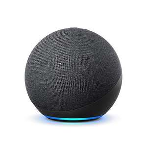 Echo (4th generation) | With premium sound, smart home hub and Alexa | Charcoal £54.99 when ordered with Alexa at Amazon