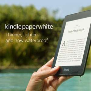 """Kindle Paperwhite 6"""" 8GB with Ads £79.99 for Prime Members ordering through Alexa Shopping @ Amazon"""