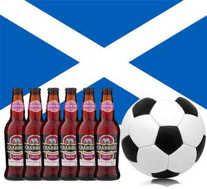 Free Case of 12x330ml Crabbies Scottish Raspberry Ginger Beer 4% If Scotland Win or Draw (Min £20 Spend) @ TheDropstore
