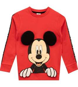 Boy's Mickey Mouse sweatshirt (sizes 6-7 & 7-8 years) £7.95 Prime (+£4.49 Non Prime) Sold by Character UK & Fulfilled by Amazon