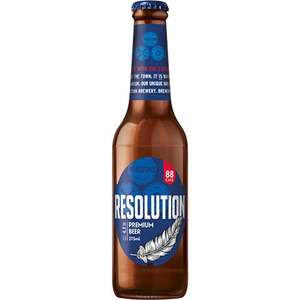 Marston's Resolution 24pack low carb, 4.7% Alcohol £19.99 (£6.95 deelivery) @ Drinks Aisle