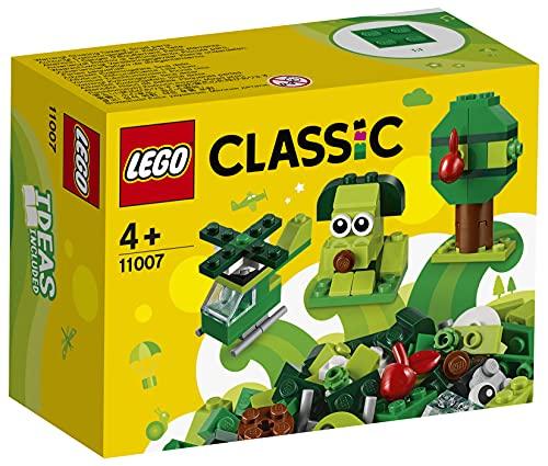 LEGO 11007 Classic Creative Green Bricks Learning Starter Set £3.07 (+£4.49 non Prime) at Amazon