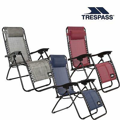 Trespass Sun Lounger Reclining Chair Folding Garden Patio £54.99 @ Trespass Outlet / eBay