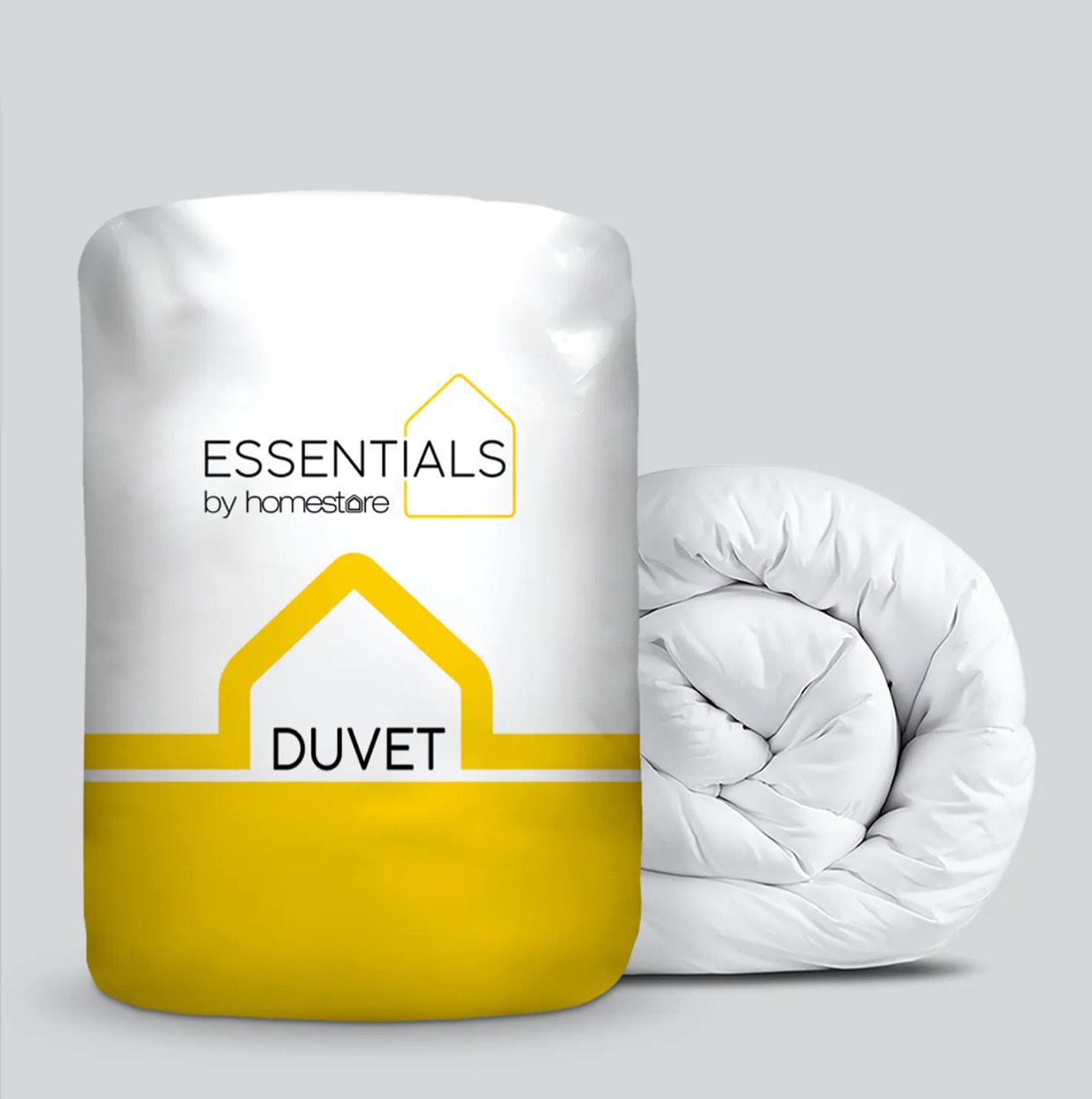 Essentials Duvet (10.5 Tog) Double £4.50 (Free click+collect) @ Matalan