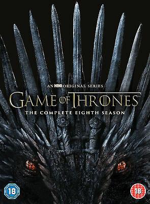 Game of Thrones Season 8 DVD £11.99 @ theentertainmentstor / eBay