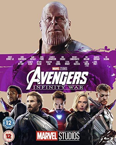 Avengers: Infinity War Blu-ray £5.06 + £2.99 Non Prime @ Amazon