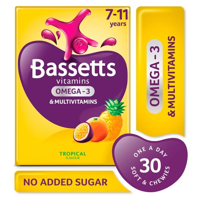 Bassetts Vitamin +Omega 3 Tropical £5 @ Morrisons