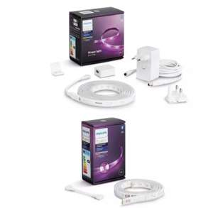 Philips Hue Indoor 2M Lightstrip with 1M Smart Extension Kit - £52.99 in basket (Free Click & Collect) @ Argos