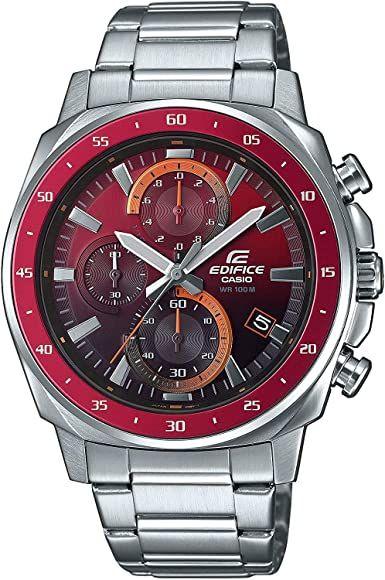 Casio Edifice Mens Chronograph Watch EFV-600D-4AVUEF £58.48 (In stock on June 28, 2021) @ Amazon