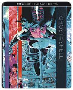 Ghost in the Shell (4k blu ray) - £11.82 (+£2.99 Non-Prime) @ Amazon