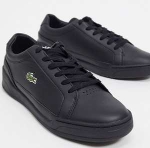 Lacoste Challenge trainers in black leather - £33.60 with code @ ASOS
