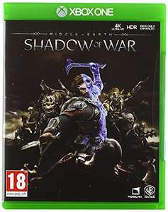 Middle-earth: Shadow of War (Xbox One) £3.98 (+£2.99 Non Prime) Sold by Game Trade UK and Fulfilled by Amazon