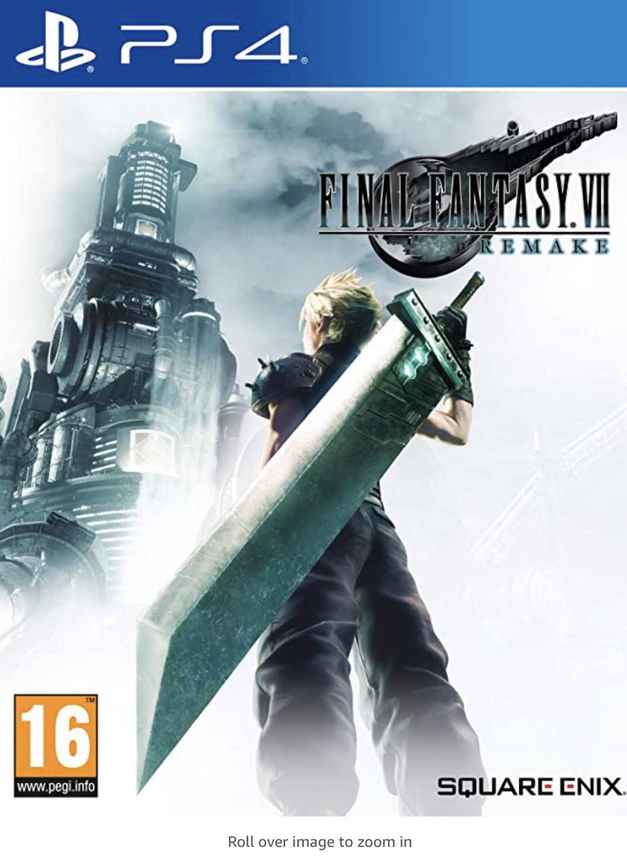 Final Fantasy VII remake (PS4) - £20 (Free Click & Collect) @ Smyths