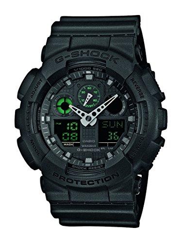 Mens Casio G-Shock Black Alarm Chronograph Watch, £54.88 at Amazon