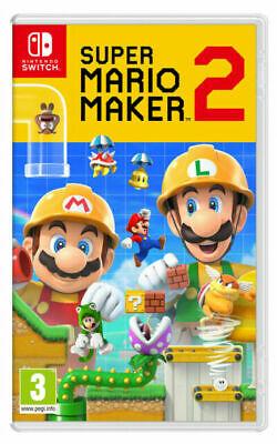Used: Super Mario Maker 2 (Nintendo Switch) - £29.95 @ musicmagpie / ebay