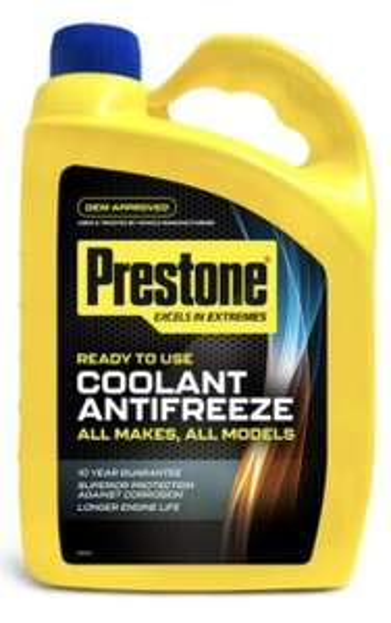Prestone Antifreeze / Coolant 4L £7 Clubcard Price @ Tesco