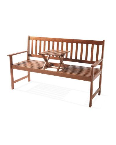 Gardenline Wooden Love Bench £89.94 delivered @ Aldi