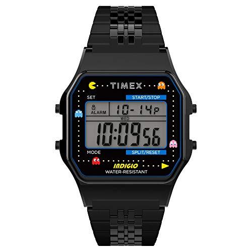 TIMEX T80 X PAC-MAN 34mm Watch TW2U32100 Black 30M WR, £49.63 (Less With $-Friendly Card) UK mainland @ Amazon US