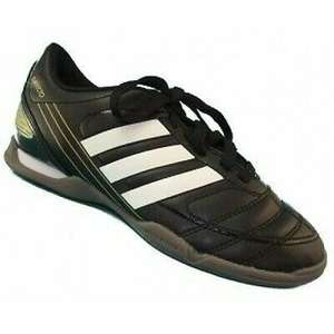 ADIDAS DAVICTO III Black Leather Football Soccer Trainers Junior Sizes 2-5.5 £14.99 delivered @ 4seasonsdiscount / ebay