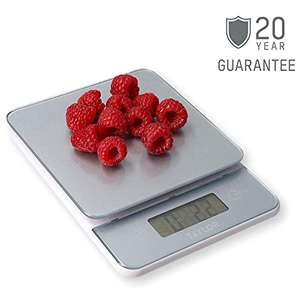 Taylor Digital Kitchen Food Scales 5kg Highly Accurate w/ Tare Function & Precision (Pewter Grey) £6.56 (+£4.49 NonPrime) delivered @ Amazon