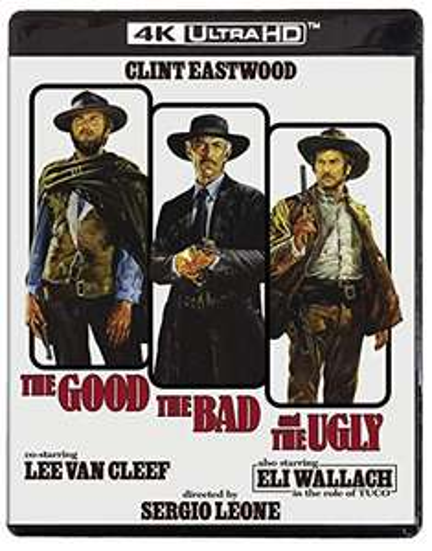 The Good, the Bad and the Ugly [4KUHD] [Blu-ray] - £20.42 @ Amazon