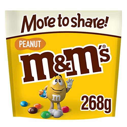 M&M's Peanut Chocolate, More to Share Pouch, 268g £1.39 Prime / + £4.49 Non Prime @ Amazon