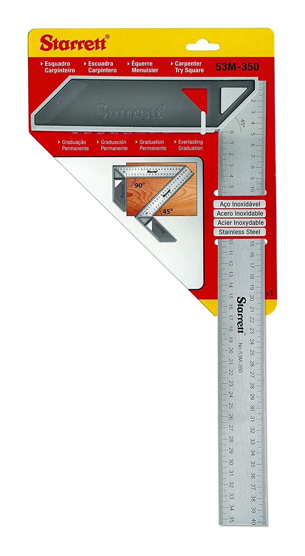 Starrett K53M-350-S Try Square - £6.35 Prime / +£4.49 non Prime @ Amazon