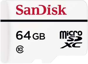 64GB - SANDISK High Endurance Video Monitoring Class 10 MicroSDXC Memory Card - £6.97 delivered @ Currys PC World