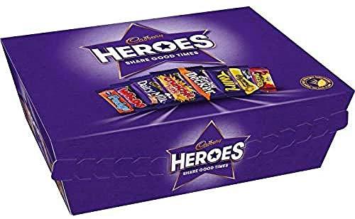 Cadbury Heroes Chocolate Gift Tub 76g - £1.05 Prime / +£4.49 non Prime @ Amazon