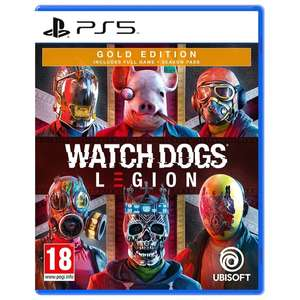 Watch Dogs Legion Gold PS5 - £20 + free Click and Collect only @ Smyths Toys
