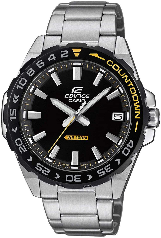 Casio Edifice Mens Analogue Quartz Watch ,Black/ Silver - £45.49 Delivered @ Amazon