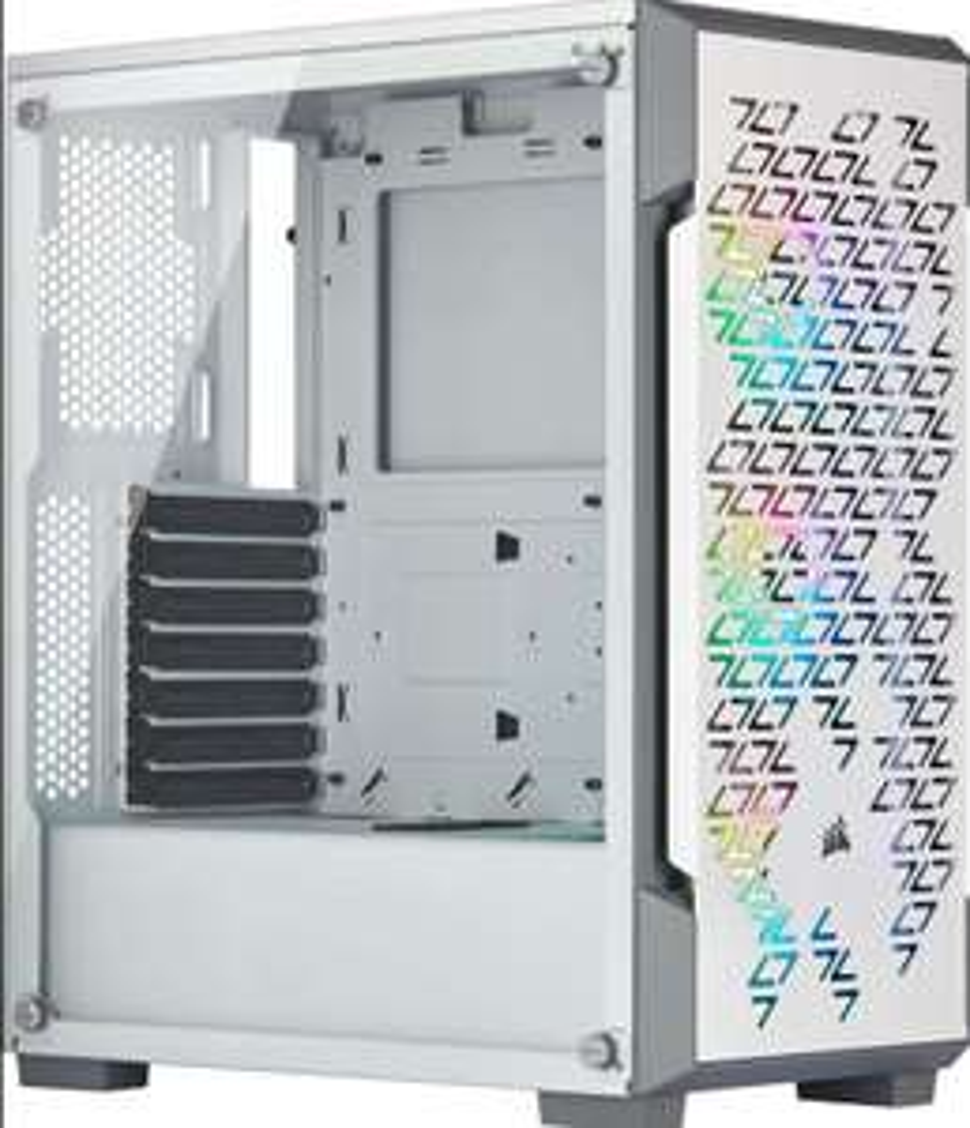 White Corsair iCUE 220T RGB Airflow - £61.74 @ Amazon