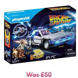 Playmobil Back to the Future DeLorean - £27.99 delivered @ Moonpig