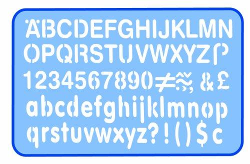 Helix 10mm Letter Stencil - £1.09 Prime (+£4.49 Non Prime) @ Amazon
