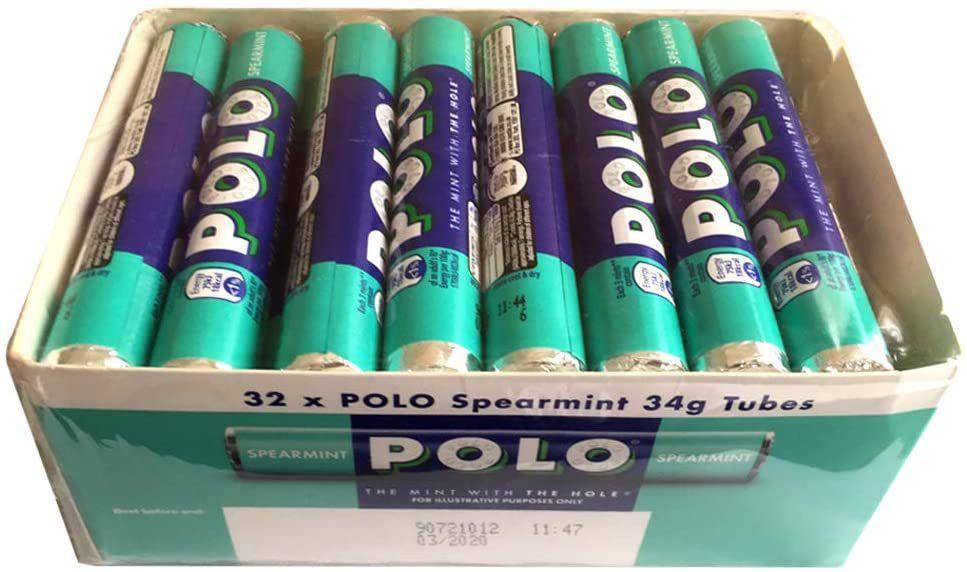 POLO Spearmint Mint Tube, 32x34g - £8 Prime / +£4.49 non Prime (£6.80/£7.20 S&S) @ Amazon