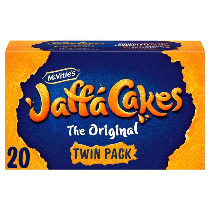 McVitie's The Original Jaffa Cakes Twin Pack x20 238g - £1 @ Sainsbury's
