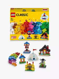 LEGO Classic 11008 Bricks and Houses - £10 / £13.95 delivered @ John Lewis & Partners