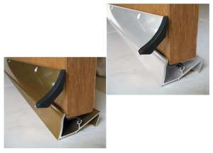 Wickes Threshold And Rain Deflector White or Gold 838mm - £1 each (Free click & collect) @ Wickes