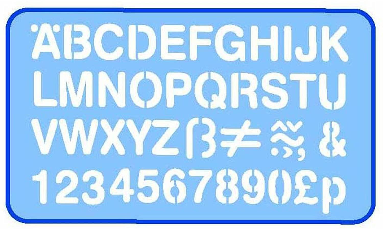 Helix high quality plastic 20mm stencil - £1.49 Prime / +£4.49 non Prime @ Amazon