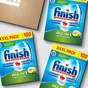 500 Finish All In One Lemon Dishwasher Tablets for £27.49 (5.5p/each) delivered @ Finish Shop