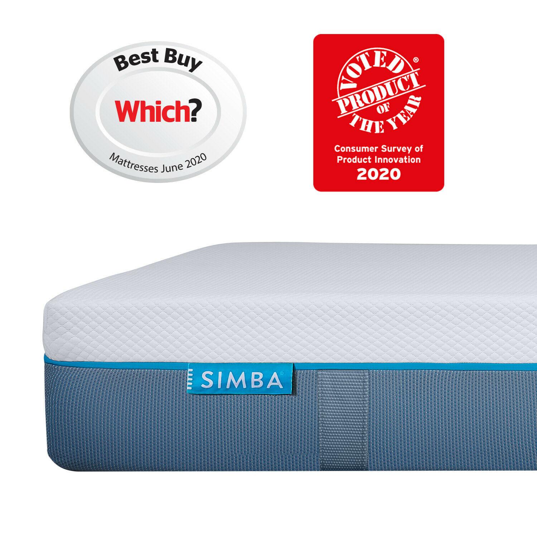 Refurbished Simba King-size Hybrid Mattress - £220.24 delivered using code @ Simba / eBay