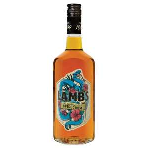 Lambs Spiced Rum 70Cl £12 (Clubcard Price) at selected stores @ Tesco