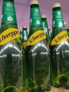 Schweppes Canada Dry Ginger Ale 1 Litre is 69p @ Jack Fultons (Heywood)