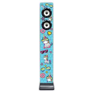 iDance Unicorn Tall Speaker with built-in Radio £9.99 Free Click & Collect @ Smyths