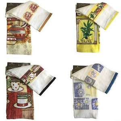 Logan & Mason Random 2 Pack Kitchen T Towels £1,99 delivered @ pink_and_blue_gifts1 / ebay