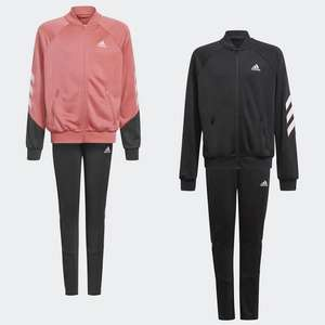 adidas XFG 3-Stripes Primegreen Girls Tracksuit - 2 colour options (aged up to 15yrs) £18.92 delivered using code @ adidas