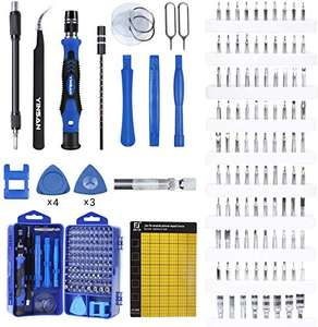 Tool set with a magnetic memory mat - £12.79 (+£4.49 Non-Prime) - Sold by Yinsan Direct / Fulfilled by Amazon @ Amazon